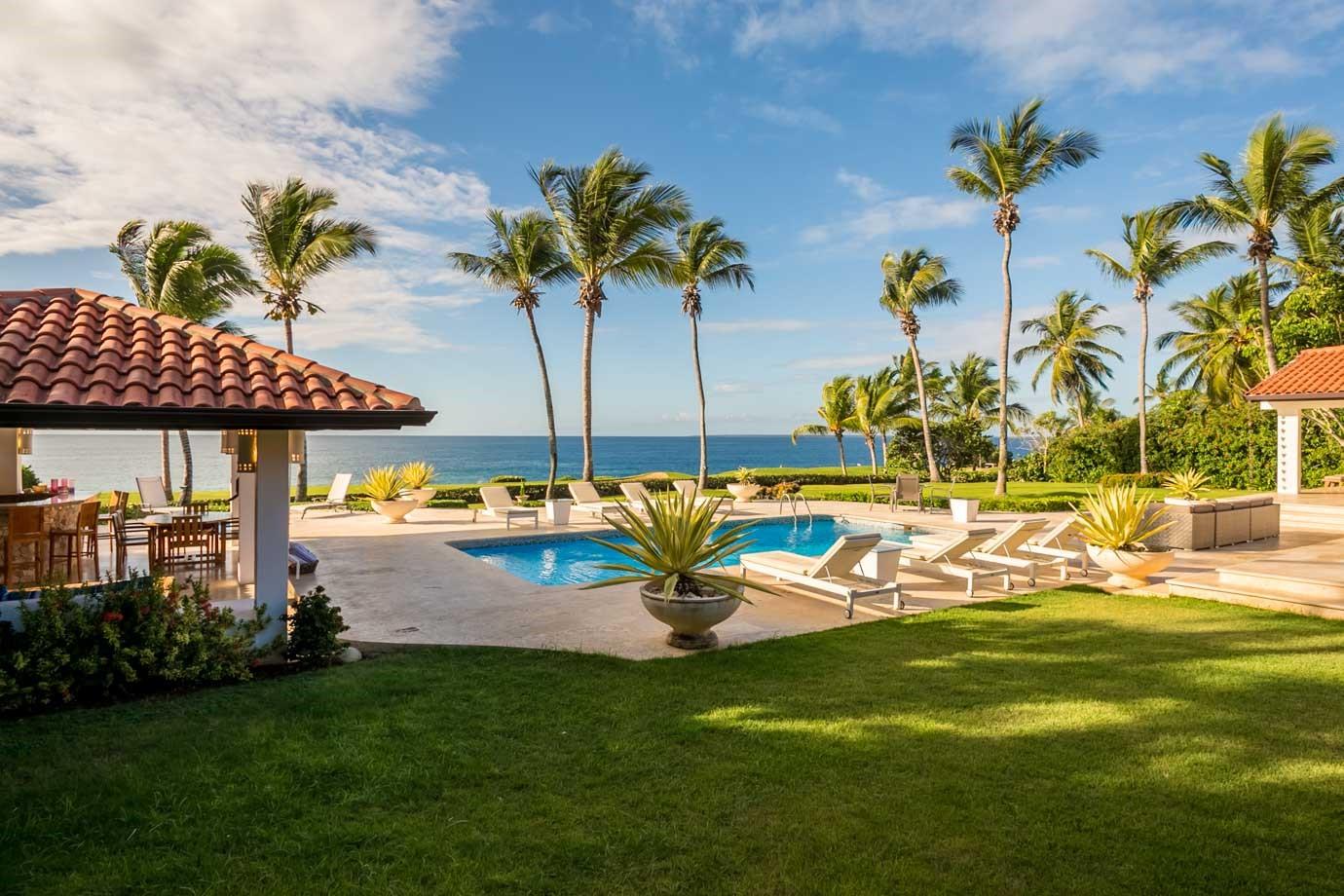 Oceanfront Villa For Rent In Casa De Campo