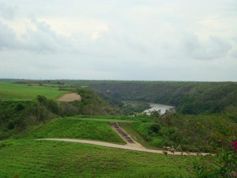 Golf courses in Casa de Campo, Dominican Republic